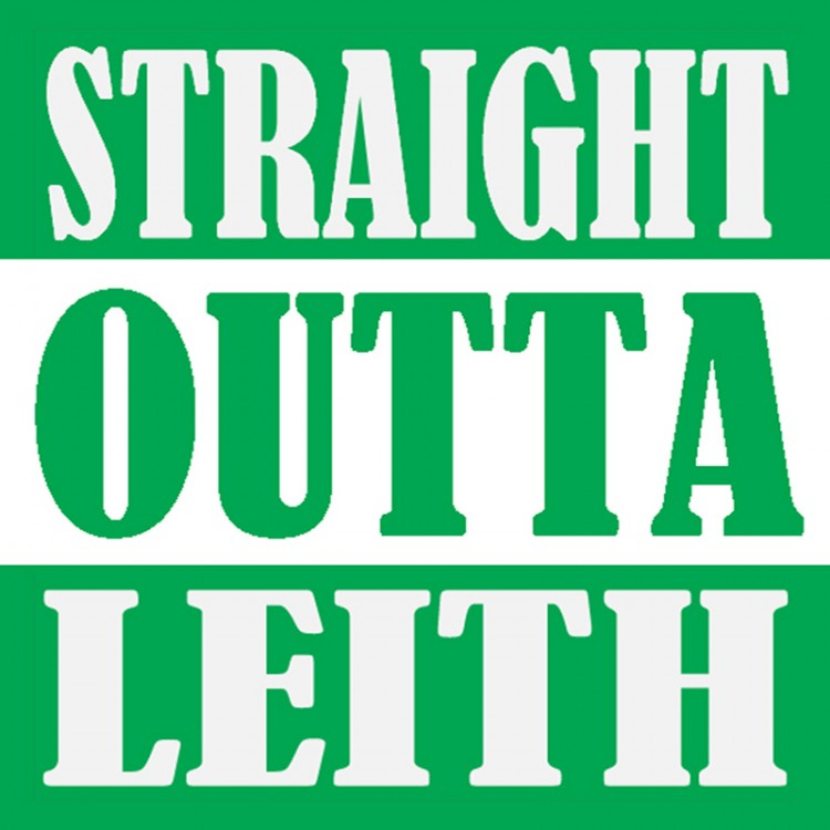 Straight Outta Leith T Shirt.