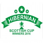 Hibernian Stars Scottish Cup 2016 Winners