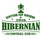 Hibernian Scottish Cup 2016 Winners